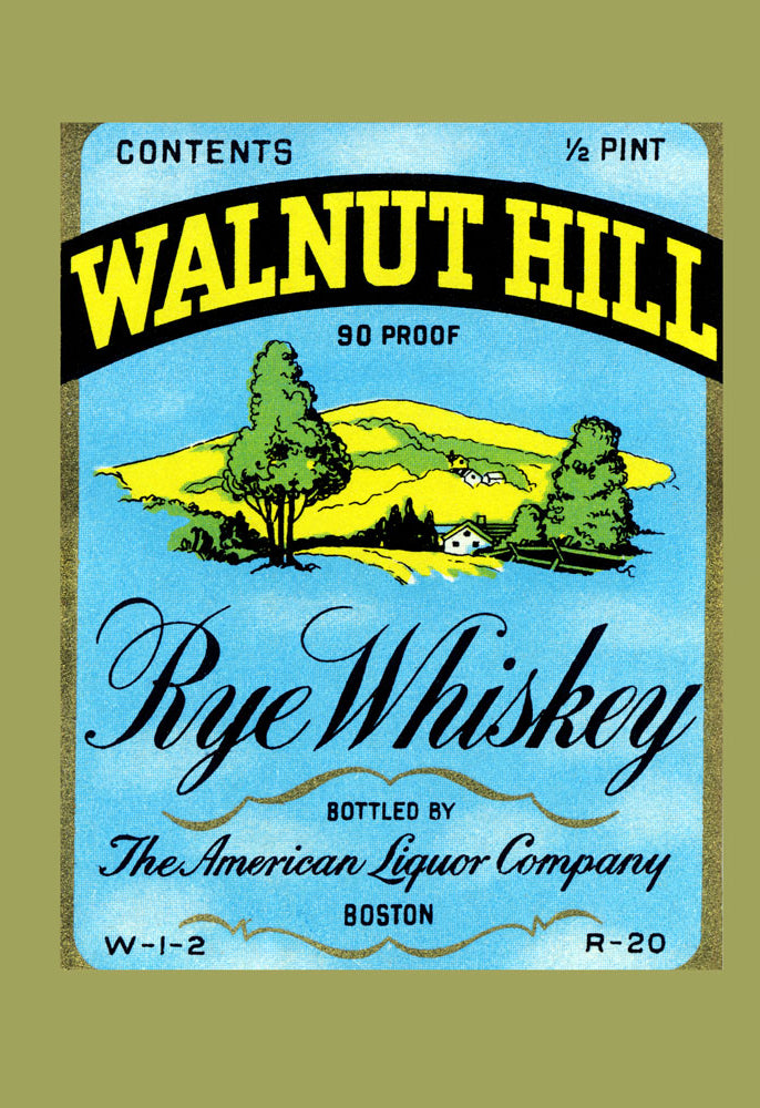 WALNUT HILL RYE WHISKEY