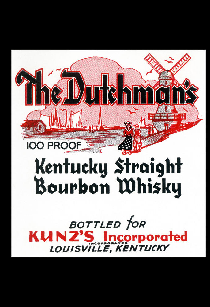 DUTCHMAN'S KENTUCKY STRAIGHT BOURBON WHISKEY