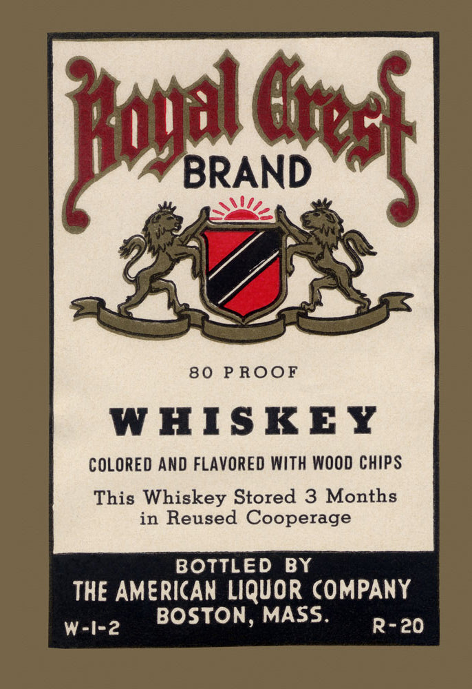 ROYAL CREST BRAND WHISKEY