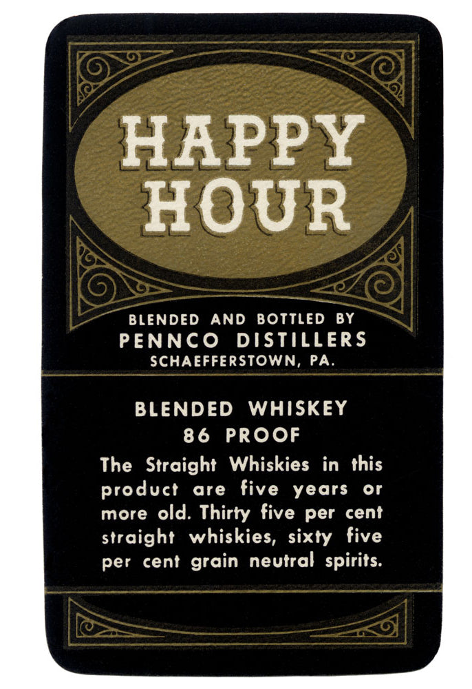 HAPPY HOUR BLENDED WHISKEY