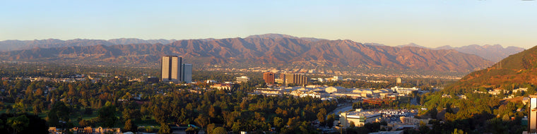 SAN FERNANDO VALLEY PANORAMIC