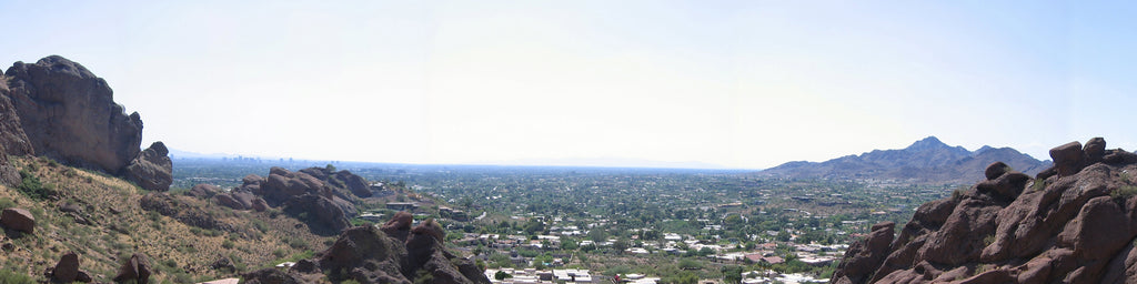 VIEW FROM CAMELBACK MOUNTAIN