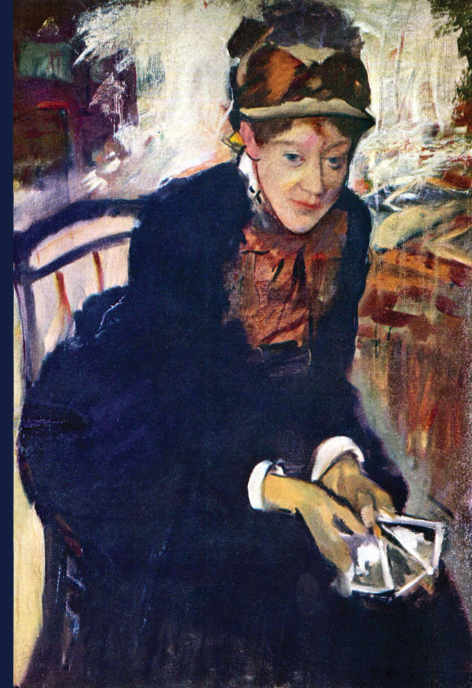 PORTRAIT OF MISS. CASSATT