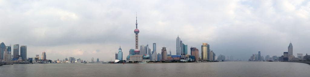 SHANGHAI BUND PANORAMIC VIEW