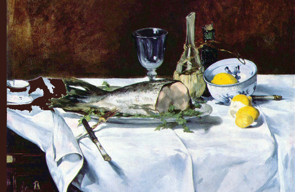 STILL LIFE WITH SALMON