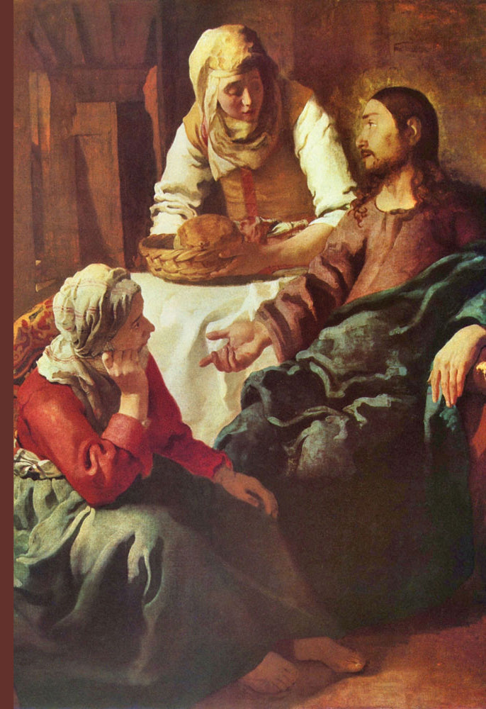 CHRIST WITH MARY AND MARTHA