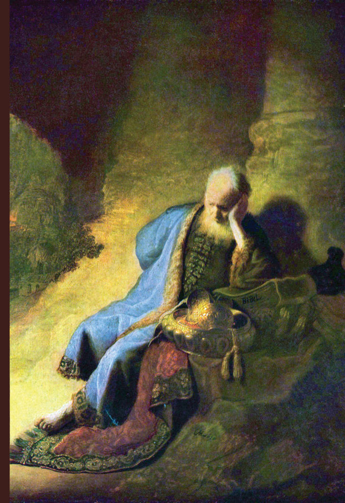 JEREMIAH MOURNING OVER THE DESTRUCTION OF JERUSALEM