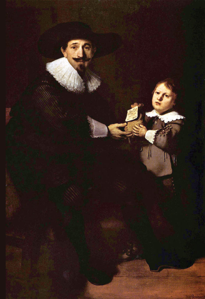 PORTRAIT OF JAN AND HIS SON PELLICORNE