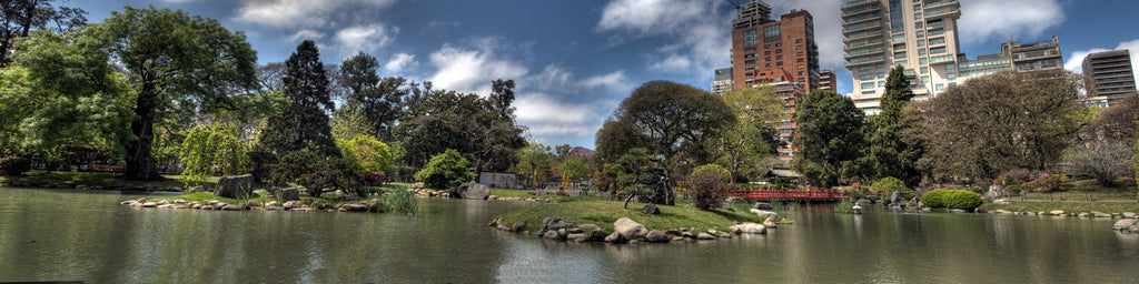 JAPANESE GARDEN PANORAMIC