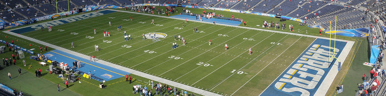 QUALCOMM STADIUM, HOME OF THE CHARGERS