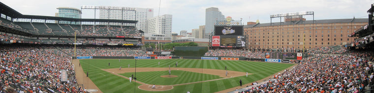 CAMDEN YARDS, HOME OF THE ORIOLES MURAL