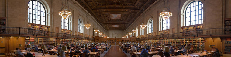 NY PUBLIC LIBRARY RESEARCH ROOM