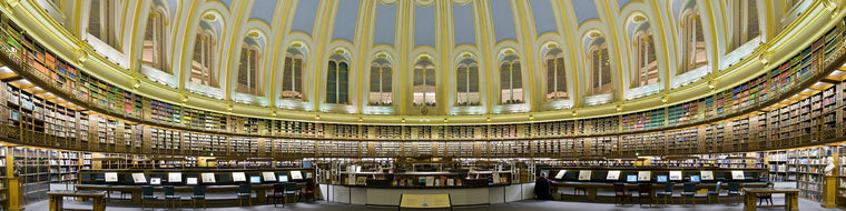 READING ROOM, BRITISH MUSEUM, LONDON