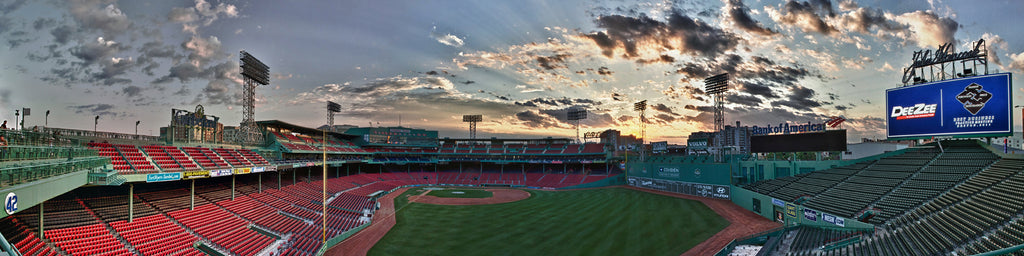 RED SOX STADIUM, GREEN MONSTER