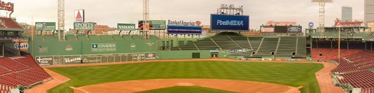 RED SOX STADIUM BEFORE FANS ENTER