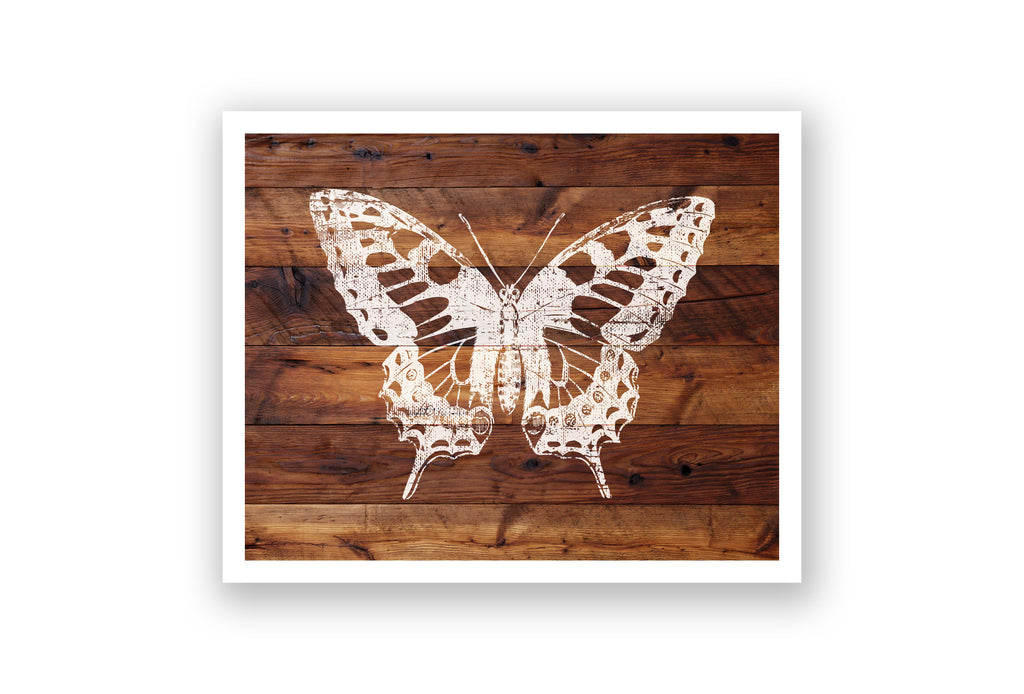Wooden Wall Art - Butterfly