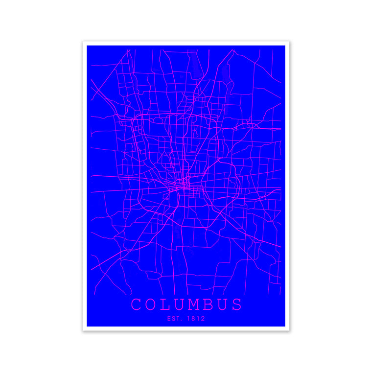 Columbus Pink and Blue