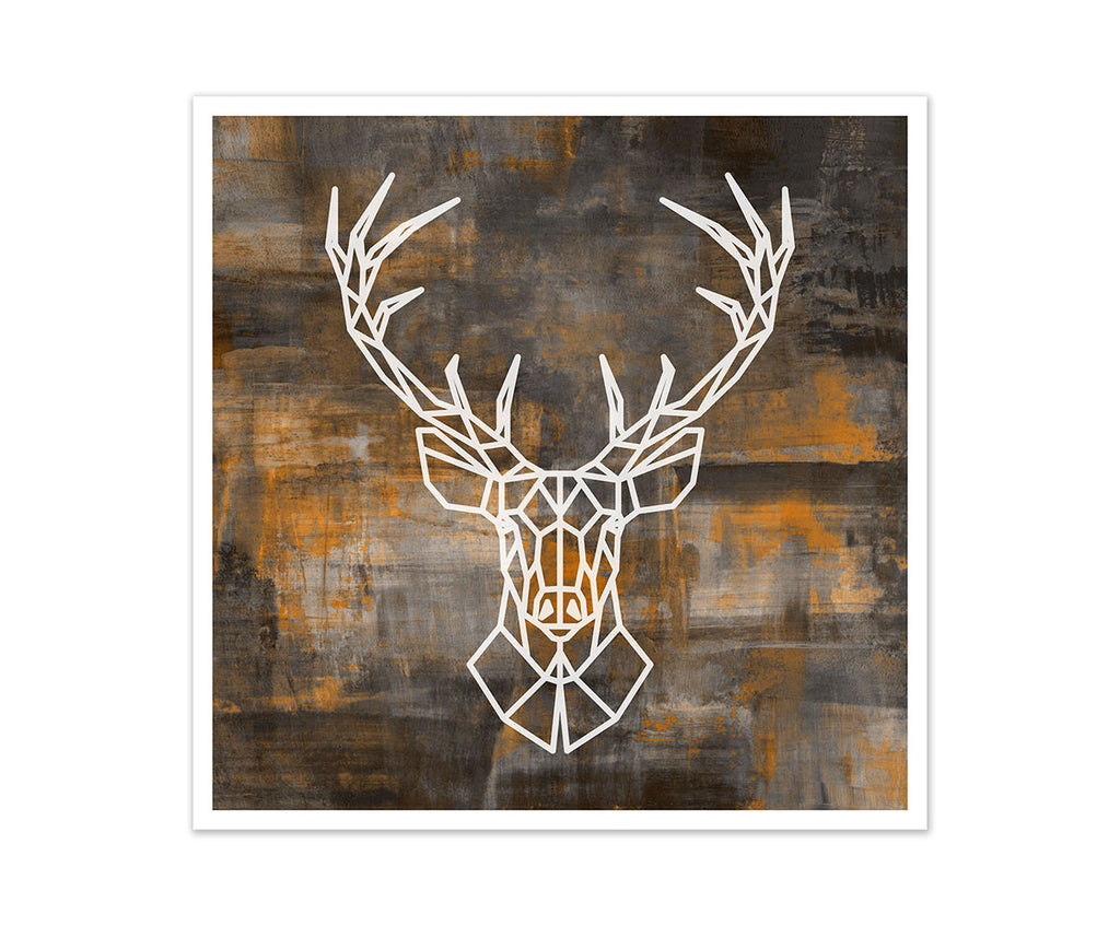 Deer Geometric Art
