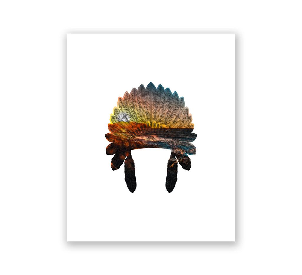 Headdress Sunset