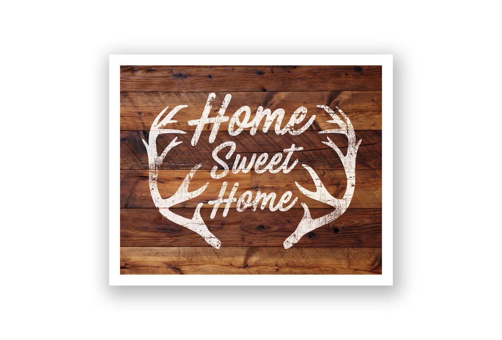 Wooden Wall Art - Home is Where the Trees Are