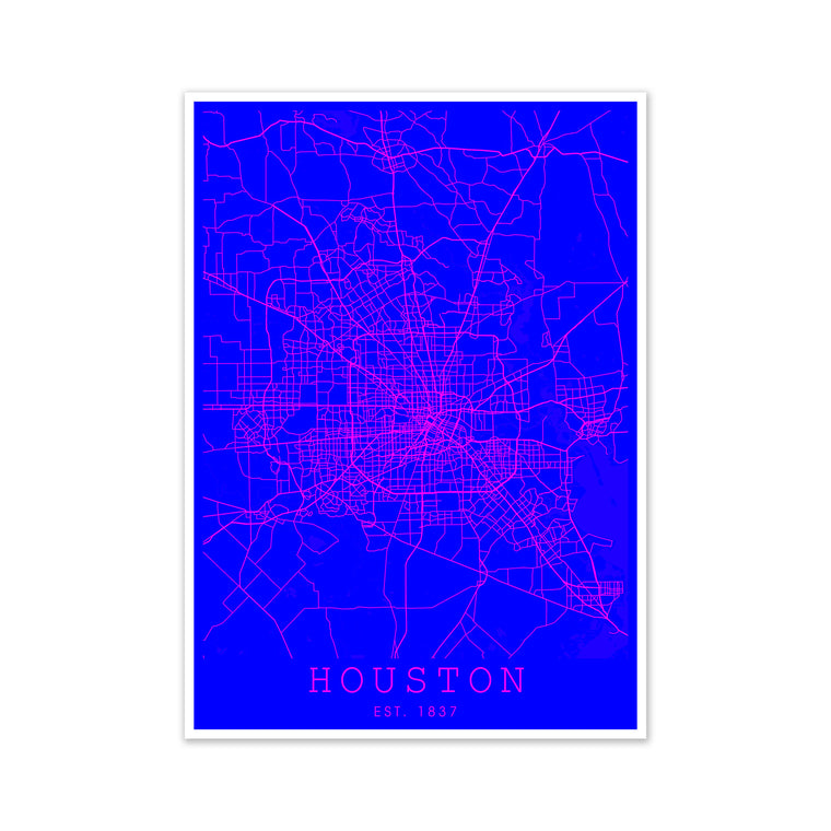 Houston Pink and Blue