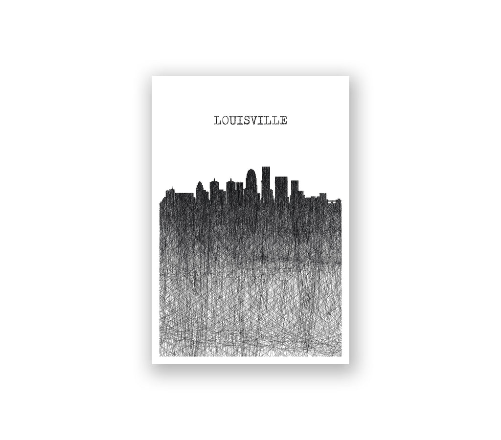 Louisville Pencil Skyline