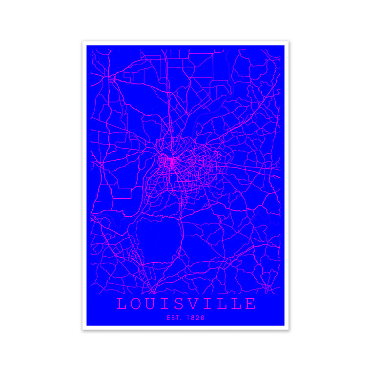 Louisville Pink and Blue