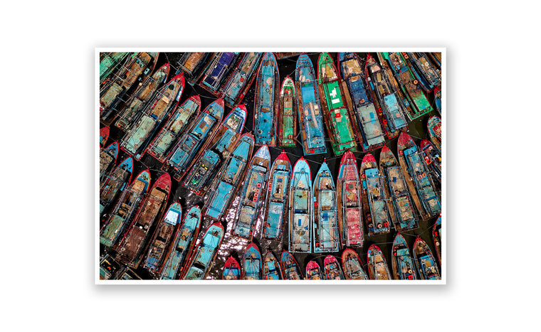 Parked Fishing Boats