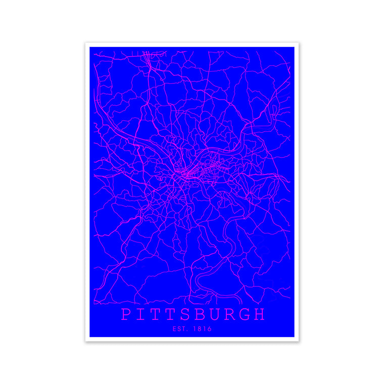 Pittsburgh Pink and Blue
