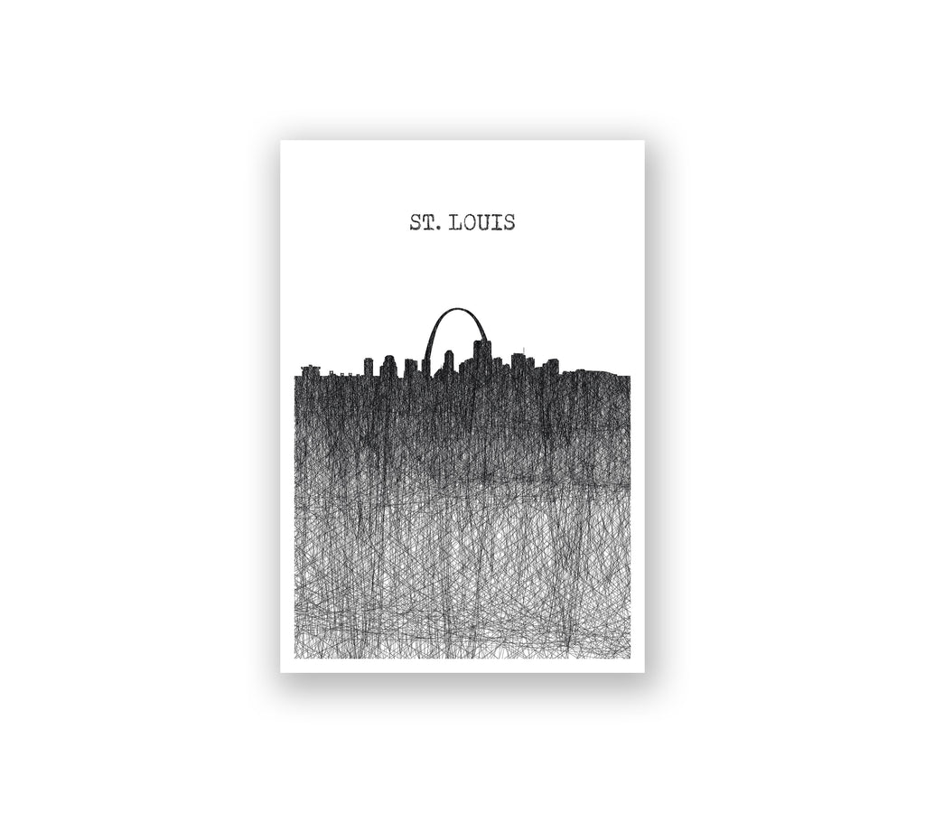 St. Louis Pencil Skyline