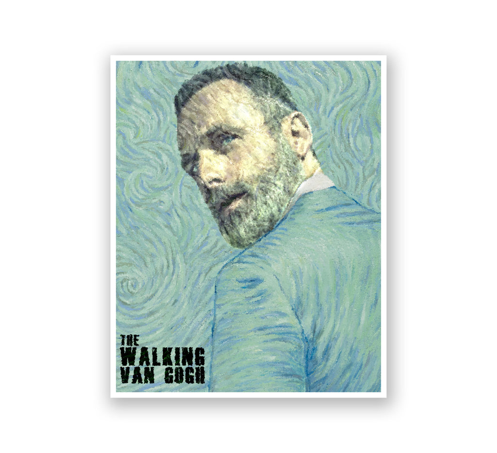 Van Gogh Pop Art -The Walking Van Gogh
