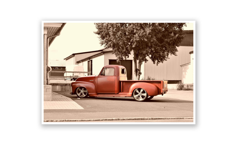 Classic Red Truck