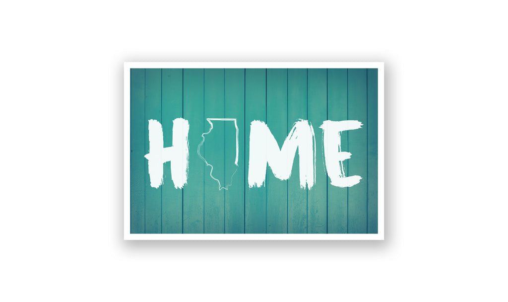 Home State Outline - Illinois