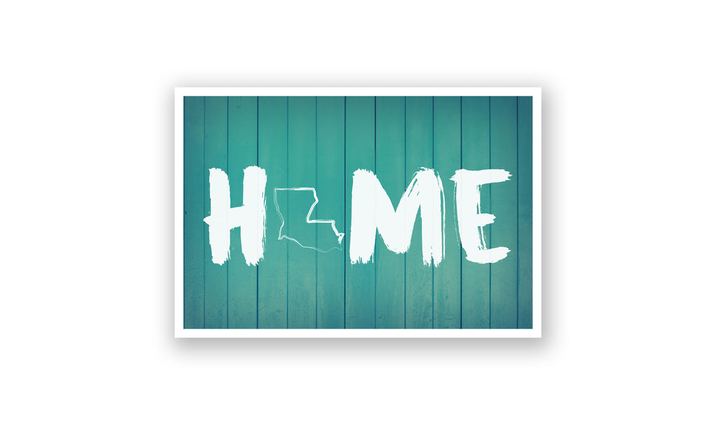 Home State Outline - Louisiana