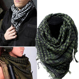 Cotton Tactical Shemagh Scarves Army Green