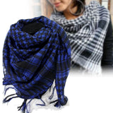 Cotton Tactical Shemagh Scarves Blue