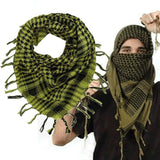 Cotton Tactical Shemagh Scarves Yellow