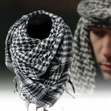 Cotton Tactical Shemagh Scarves Black