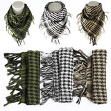 Cotton Tactical Shemagh Scarves Yellow Black Beige