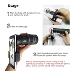 Day/Night Vision Monocular with Phone Clip