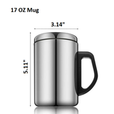 Stainless Steel Insulated Thermos Mug