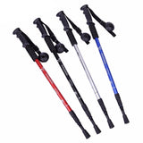 Alpenstock Anti-Shock 3 Sections Telescopic Walking Stick