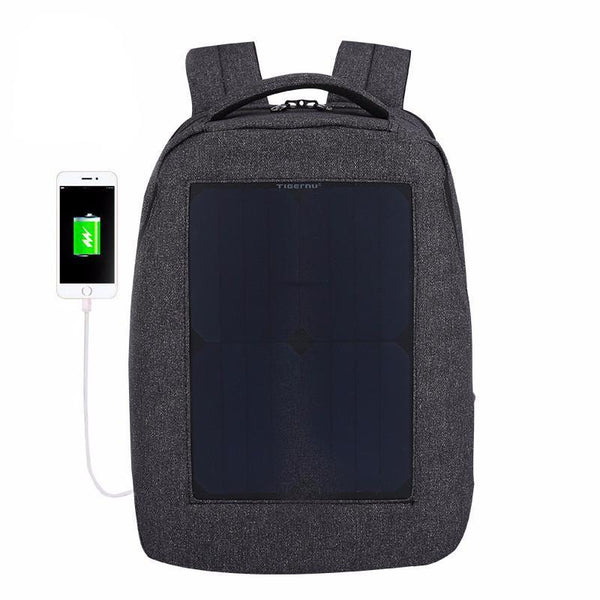 Waterproof Backpack 10W 35L Solar Power Charger Back Pack
