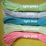 Glow in the Dark Paracord - All Colors