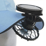 Clip-on Solar Powered Fan