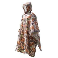 3 in 1 Multifunctional Poncho Woodland Camo