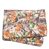3 in 1 Multifunctional Poncho Woodland Camo Folded