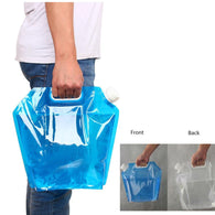 5L/10L Outdoor Foldable Collapsible Drinking Water Bag