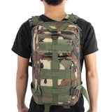 backpack camo back view