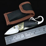 Bushcraft Carabiner Pocket - Keychain EDC Knife